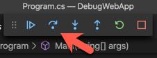 stepping through code
