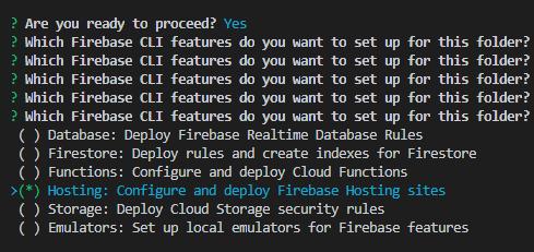 Firebase configurations