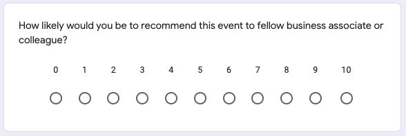 Survey question four