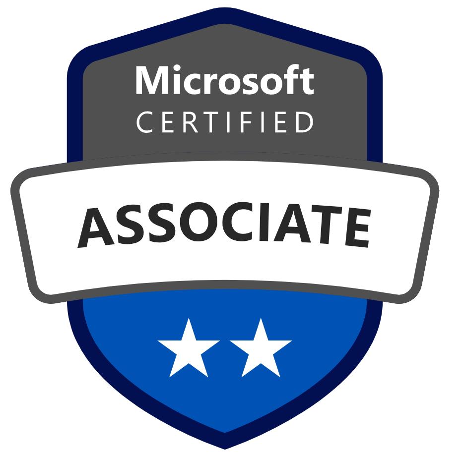 Microsoft Certified Associate Badge Image