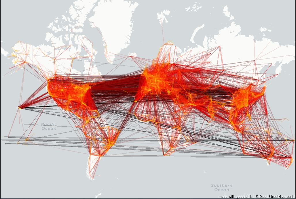 spatial map