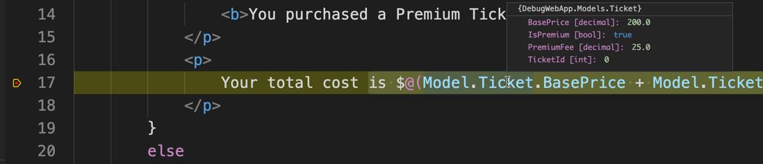 debugging markup