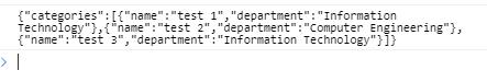String to JSON using json.stringify()