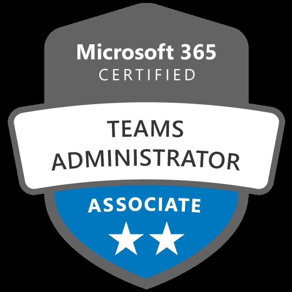 Microsoft 365 Teams Administrator Associate Badge