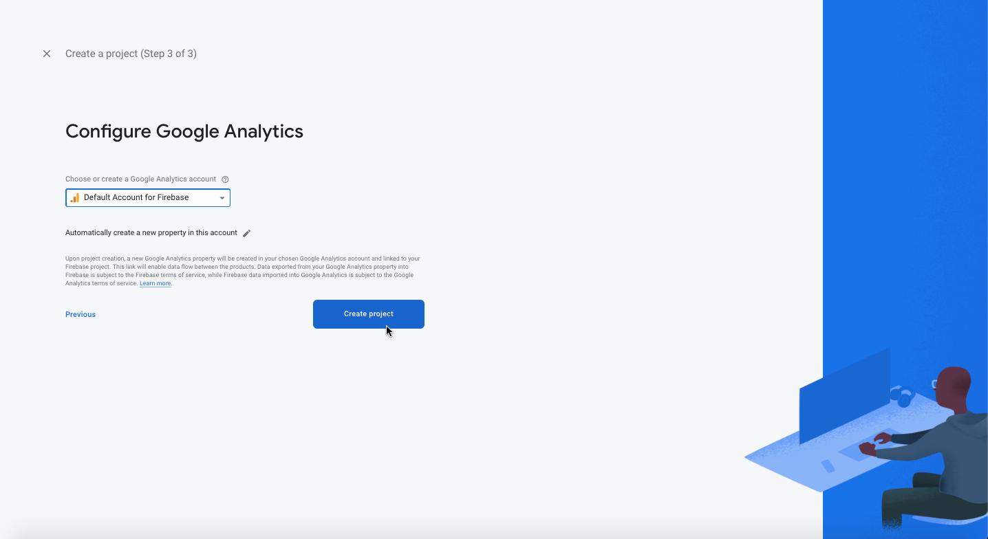 Configure Analytics account