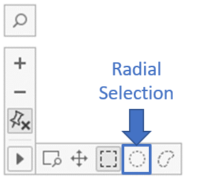 radial selection